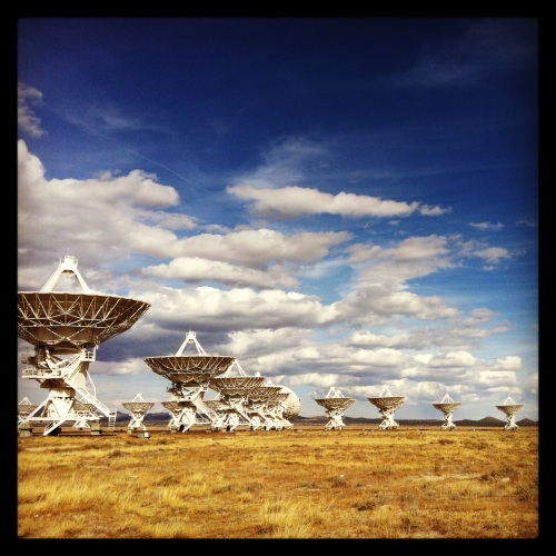 Photo  by Hans York taken at VLA - Very Large Array, New Mexico (http://www.vla.nrao.edu)